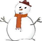obrázek sněhuláka