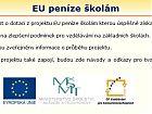 leták EU peníze školám